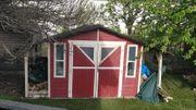 Holzhaus Karibu Selbstabbau 3x2 m