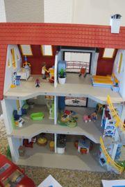 Playmobil Gesamtpaket Haus Küchen Spielplatz