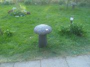 2 Pilze Schwammerl Deko Garten