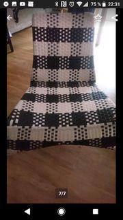 Stuhl Sesselstuhl schwarz weiß