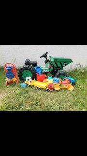 Traktor Big Jake Sandspielzeug