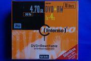 Intenso DVD RW Rohlinge 4x