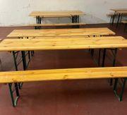 Bierzeltgarnitur Garnituren Tisch Bank zu