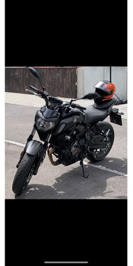 Yamaha über 500 ccm - Yamaha MT 07