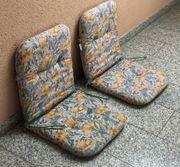 4x Garten Stuhlauflage dick kürzere