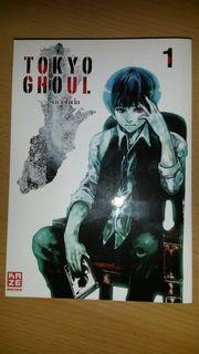 Tokyo Ghoul Manga 1-7 Sui