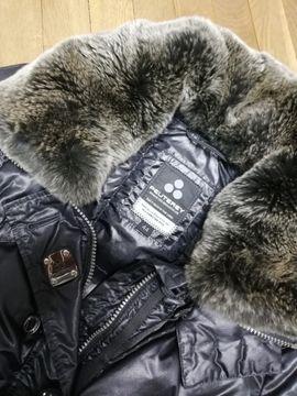 Winter Jacke schwarz glänzend von PEUTEREY
