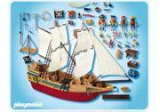 Großes Piraten-Tarnschiff Produktnr 4290
