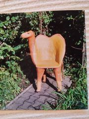 Rarität dekorativer Künstlerstuhl Kamel Einzelstück