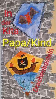 Im Kindergarten Mülheim einen Drachen
