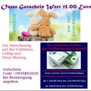 Oster Gutschein Wert 15 00