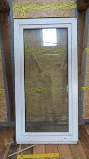 Glastür Balkontür Terassentür 180x85cm mit
