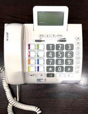 Großtasten-Hörgeschädigten-Telefon mit Lichtsignal