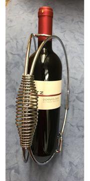 Weinflaschen - Ständer ohne Deko