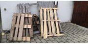 Brennholz Palettenware