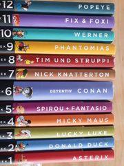12 Comics Bücher