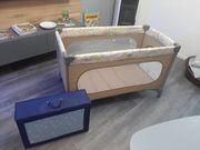 Reisebett Babybett inklusive Matratze neuwertig
