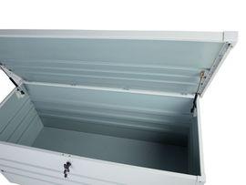 Auflagenbox Stahl cremeweiß 132 x: Kleinanzeigen aus Wietzendorf - Rubrik Gartenmöbel