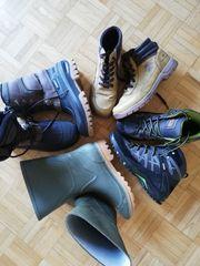Schuhe Wandern Stiefel Gummi