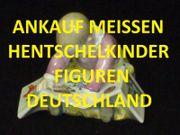 ANKAUF HENTSCHELKINDER FIGUREN MEISSEN HENTSCHEL