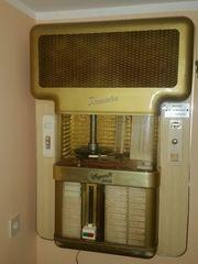 Musikbox Jukebox Wiegandt Tonmaster Wandmusikbox