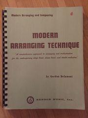 MODERN ARRANGING TECHNIQUE by Gordon