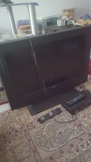 TV Fernseher und Reciever