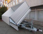 Neue PKW-Anhänger Humbaur Dreiseitenkipper HTK