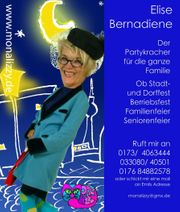 Witzige Unterhaltungsshow Showeinlage Dorffest Fam -