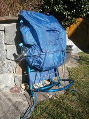 Tramper-Camping-Rucksack Erlös ist Spende