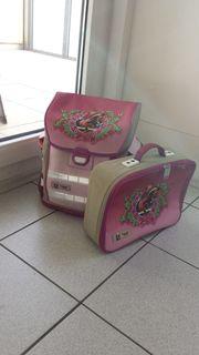 Schultasche u Handarbeitskoffer