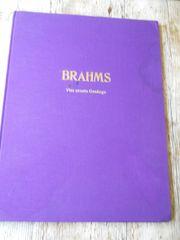 Brahms Partitur 4 ernsteGesänge - Großformat