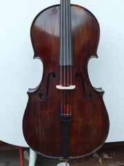 Älteres Cello Violoncello spielfertig vom
