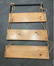 Wandregal Hängeregal Industrial Holz