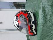 Motorradjacke Kombi Dainese Helm Shark