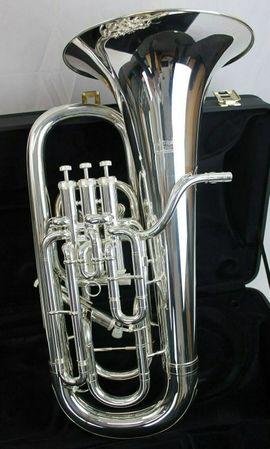 Blasinstrumente - Willson Euphonium 2950 TA versilbert