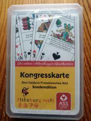 Kartenspiel Skat Kongresskarte Sonderedition Altenburg