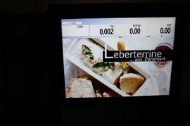 Gastronomie, Ladeneinrichtung - Bizerba KH II 800 Ladenwaage