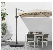 Sonnenschirm inkl Ständer von Ikea