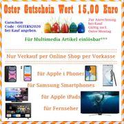 Oster Gutschein 15 EUR für