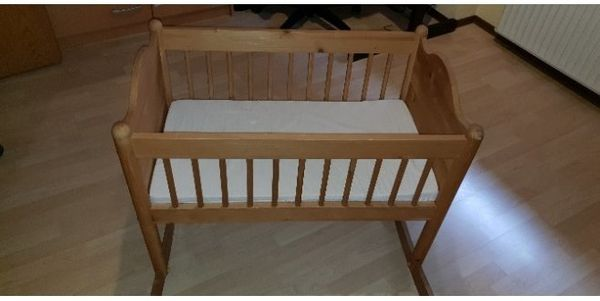 Ikea babywiege inkl matratze in gerolsheim wiegen babybetten