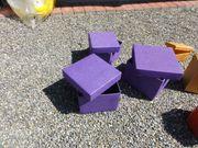 45 Schachteln quadratisch-handgeschöpftes Papier-je 3