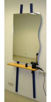 3x Wandspiegel 70x104 cm mit