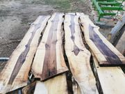 Nussbaum Bretter Pfosten Schnittholz Massiv