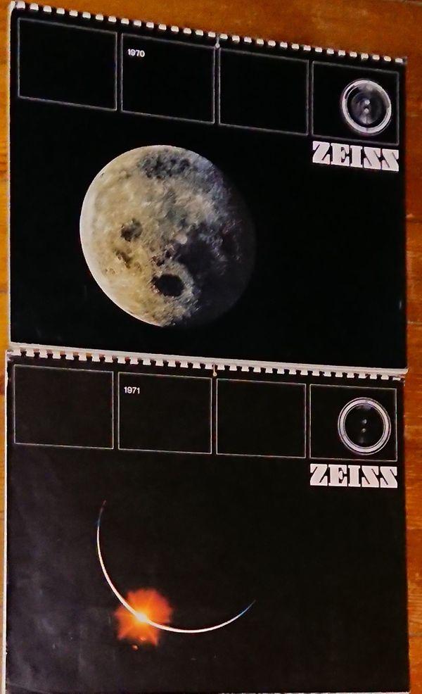 ZEISS Raumfahrt Kalender 1970 1971
