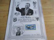 Gedenkblätter Fritz Walter