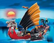 Playmobil 5481 - Drachen Kampfschiff