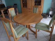 Tisch mit 4 Stühlen Esszimmer