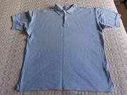 Vintage - Herren-Poloshirt Gr M hellblau