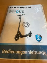 E-scooter Street Maginon in Originalverpackung